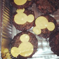Mickey Mouse Party Food burgers