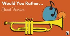 Time for some fun – Would You Rather… Band Version! This gameis ideal to use with concert bands and large classes. It's non-competitive and sure to have your students smiling if not laughing throughout rehearsal! This game isespecially good to use to motivate studentson: – warm-ups – scales/arpeggios/thirds – lines in a method book –+ Read More