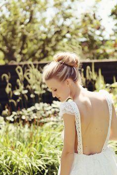 Real life #wedding inspiration #swedish #hair #bun