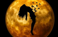 Picture Magick, Witchcraft, Full Moon Tonight, Moon Silhouette, Easy Meditation, Moon Magic, Spiritual Path, Dark Photography, Moon Goddess