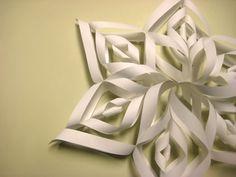 Make a snowflake - so easy