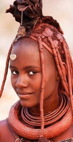 cute and pretty African Tribes, African Women, Beautiful Black Women, Beautiful People, Himba Girl, Himba People, Afrique Art, Traditional Hairstyle, Black Magic Woman