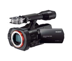 Meet the full-frame interchangeable lens camcorder, the VG900. #PinItToGiveIt