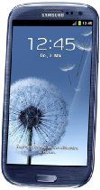 Samsung Galaxy S III/S3 GT-I9300 Factory Unlocked Phone - International Version (Pebble Blue) From Samsung Price: 	$444.00
