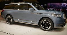 Lincoln Navigator Concept Brings Future 'Bling' To NY #Concepts #Lincoln
