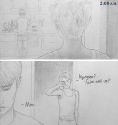 (1) EXO fanarts | ohdeer-exo: totallyconfirmedexofacts: -Kaisoo...