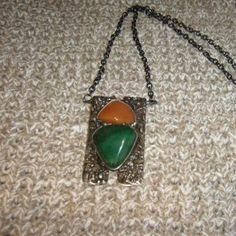 Náhrdelník královny Mab - náhrdelník s avanturínem a karneolem