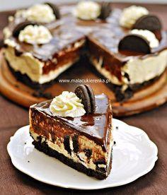 Savory magic cake with roasted peppers and tandoori - Clean Eating Snacks Tart Recipes, Dessert Recipes, Bowl Cake, Oreo Cake, Salty Cake, Polish Recipes, Savoury Cake, No Bake Cake, Love Food