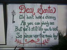 Santa please use key