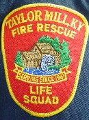 Taylor Mill Fire Department Patch   www.setcomcorp.com/fire.html