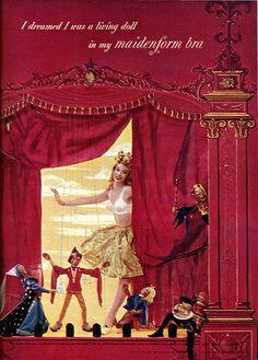 Vintage Maidenform Ad