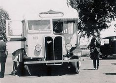 The first Midland Railway Company #bus! The company began a road service alongside its #railway between Perth and Geraldton in 1946.