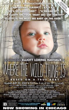 """Custom baby boy """"Where the Wild Things Are"""" inspired birth announcement."""