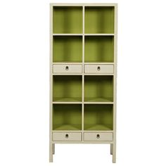 apple green color for the bookcase - love it!