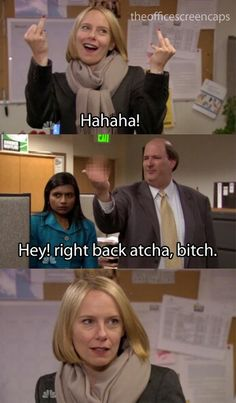 The Office Holly Flax Kevin Malone