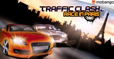 Traffic Clash Race in Paris - Become the king of driving. Drive fast, like a maniac on the ring or highways. By ‪#‎revengeitak‬.  Download now: http://www.mobango.com/traffic-clash-race-in-paris/?cid=1912784&catid=10&track=Q106X2023
