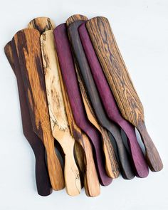 This exotic wood spurtle is a cross between a spatula and a spoon and is the single most universal utensil and a must-have for your kitchen.