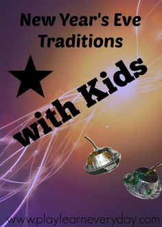 New Year's Eve Traditions with Kids