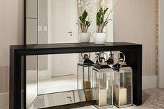amplitud decoracion recibidores espejos