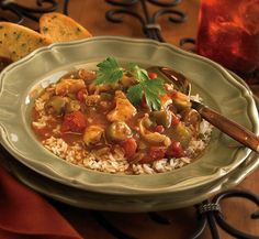 Prepping for Mardi Gras? This chicken gumbo is a Louisiana favorite packed with Cajun flavors that will leave the whole table wishing every Tuesday was Fat Tuesday.