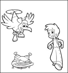 Cyberchase Calling A Friend | Cyberchase Coloring Pages | Pinterest ...