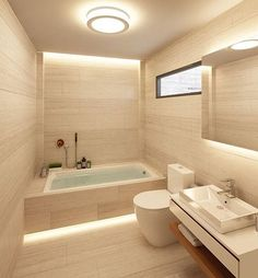 Stunning bathroom designed by Green Idea Architecture. #elegantlife