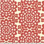 AW-148 Amy Butler Lotus Wall Flower Cherry 16/yd