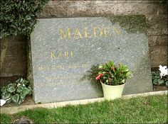 """THE GRAVE OF KARL MALDEN  (actor / star of TV's """"Streets of San Francisco"""")  at Pierce Brothers Westwood Memorial Park  in Los Angeles, California"""