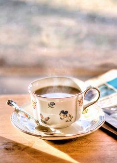 A cup of tea.
