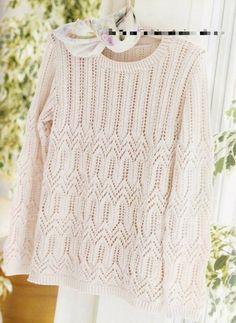 Четыре солнечных пуловера спицами🌺.   Asha. Вязание и дизайн.🌶Сонник.   Яндекс Дзен Lace Knitting Patterns, Knitting Stitches, Hand Knitting, Knitwear Fashion, Crochet Clothes, Cardigans For Women, Calm, Google Chrome, Chinese