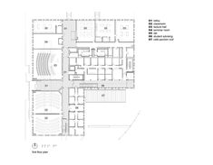 Park Shops Adaptive Reuse,first floor plan