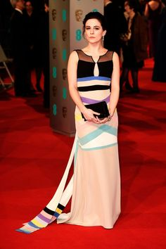 Phoebe Fox. | Here Are All The Celebrities Who Attended The BAFTAs