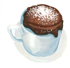 Two-Minute Chocolate Mug Cake is the most dangerous cake in the world, because we are now only 2 minutes away from chocolate cake at any time of the day or night.