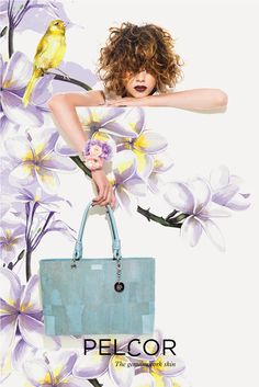 Pelcor's Spring Summer 16 collection is characterized by versatile accessories dedicated to a dynamic woman, mixing happy colors that define the season. The brand offers a selection of pieces in cork skin in a pastel color palette, with refined combinations of materials and special details.