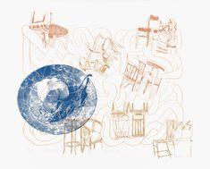 Eva Hradil, snuggling, 2019, Siebdruck, für die Edition women III von artinprint, gerduckt auf Fabriano weiss Cotton 350 g, in einer Auflage von 33 + 5AP + 2EP + 1PP. Erhältlich um EUR 390 auf www.artinprint.at/shop Picture Wall, Photo Wall, Worry Monster, Wall Pictures, Snuggles, Baby, Woodblock Print, Silk Screen Printing, Character Design