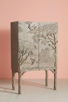 Slide View: Land & Sky Bar Cabinet We believe that tattooing can be a method that's been used since … Bar Furniture For Sale, Unique Furniture, Furniture Projects, Furniture Decor, Furniture Design, Rustic Furniture, Cabinet Furniture, Asian Furniture, Furniture Websites