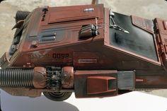 Illustration for article titled 142 Behind-The-Scenes Photos Reveal Blade Runner& Miniature World Scene Image, Scene Photo, Nave Lego, Alpha Romeo, Indiana Jones Films, Surface Art, Model Shop, Model Kits, Blade Runner 2049
