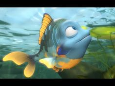 """Animated short film: """"Hooked"""" by LightWave artist.Ben Cooper * Fishing for attention: One such labor of love is Hooked, a charming, light-hearted animated . Film D, Film Movie, Brain Break Videos, Disney Pixar, Broken Video, Toddler Videos, Wordless Book, Pixar Shorts, Animation Stop Motion"""
