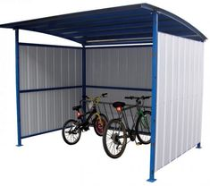 Rubbermaid Plastic Outdoor Bike and Boat Storage Shed - Yours Shed Builders Bicycle Storage Shed, Motorcycle Storage Shed, Outdoor Bike Storage, Wood Storage Sheds, Bike Shed, Wood Shed, Built In Storage, Modular Storage, Rack Velo