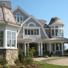 traditional exterior by JMKA   architects