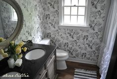 Guest Bathroom - Before and Afters (Almost Finished!)  by Dear Lillie