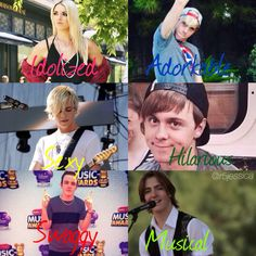 Day 18) One word that describes each member of R5 in my opinion. My edit (@r5jessica)