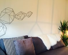 #Home, #apartment, #decor, #interior, #plants, #cactus, #colour, #modern, #lights, #industrial, #metal, #geometric