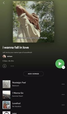 spotify playlist to fall in love // cmbyn (constantly updated) Music Mood, Mood Songs, Indie Music, Music Lyrics, Music Songs, Music Videos, Spotify Playlist, Fall Playlist, Love Songs Playlist