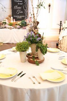 ゲストテーブル/花どうらく/ウェディング/Party /Wedding/decoration/http://www.hanadouraku.com/