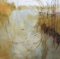 East End 2008, 72  x  72, oil on canvas, 2008 Kathleen Earthrowl