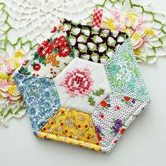 Rose Patch Potholder - Cottage Industry Shop