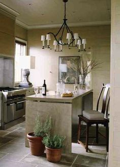 Some unexpected touches in this gorgeous kitchen
