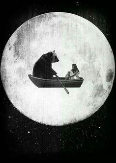 Panda moon & me