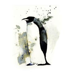 InkAnimals - Penguin by `Duffzilla on deviantART
